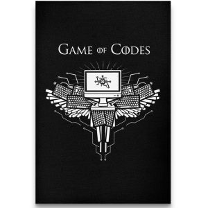 Game of Codes - canvas - Programming Tshirt, Hoodie, Longsleeve, Caps, Case - Tee++