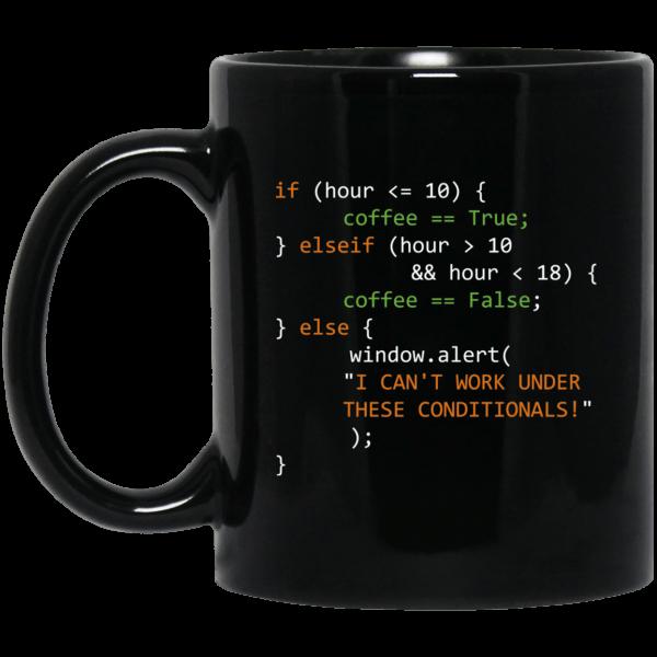 Coffee Hour (mug) - Programming Tshirt, Hoodie, Longsleeve, Caps, Case - Tee++