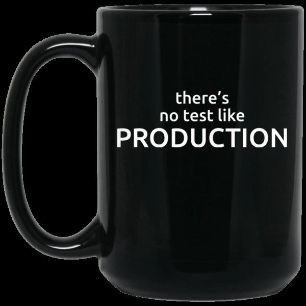 There's No Test Like Production (mug) - Programming Tshirt, Hoodie, Longsleeve, Caps, Case - Tee++