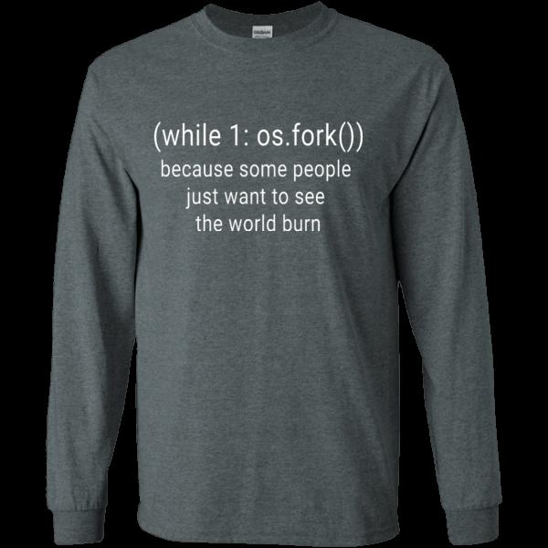 python fork (old) - Programming Tshirt, Hoodie, Longsleeve, Caps, Case - Tee++