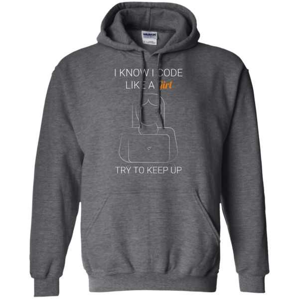 Backup Copy of I Code Like a Girl - Programming Tshirt, Hoodie, Longsleeve, Caps, Case - Tee++