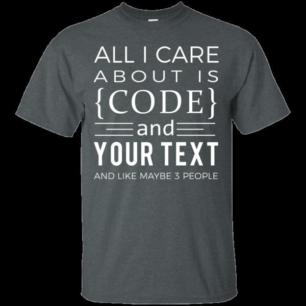 Code & (Your text) - Programming Tshirt, Hoodie, Longsleeve, Caps, Case - Tee++