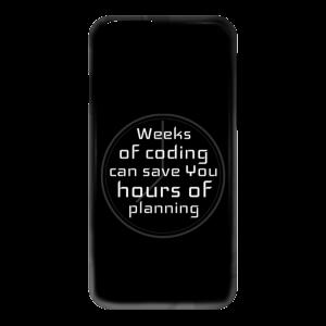 Weeks of Coding (phone case) - Programming Tshirt, Hoodie, Longsleeve, Caps, Case - Tee++