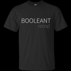 Booleant Mind - Programming Tshirt, Hoodie, Longsleeve, Caps, Case - Tee++