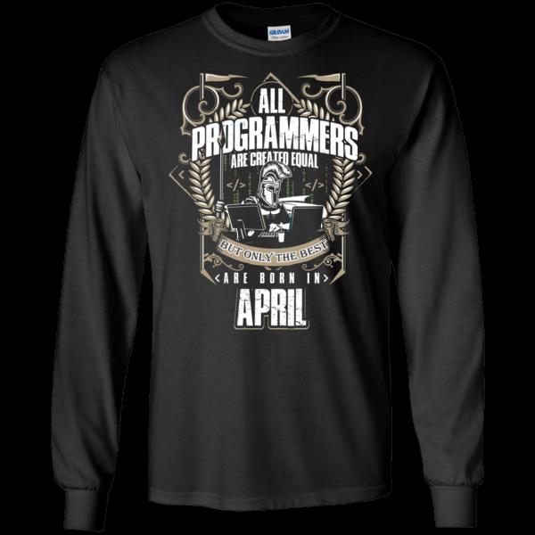 Best Programmers (April) - Programming Tshirt, Hoodie, Longsleeve, Caps, Case - Tee++