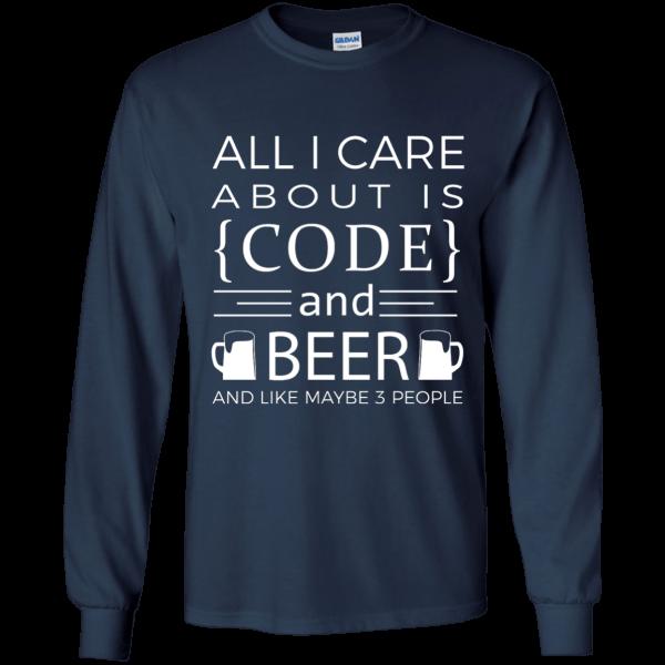 Code & Beer - Programming Tshirt, Hoodie, Longsleeve, Caps, Case - Tee++