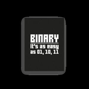Binary is easy (canvas) - Programming Tshirt, Hoodie, Longsleeve, Caps, Case - Tee++