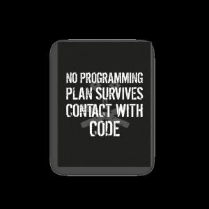 No Plan Survives (canvas) - Programming Tshirt, Hoodie, Longsleeve, Caps, Case - Tee++