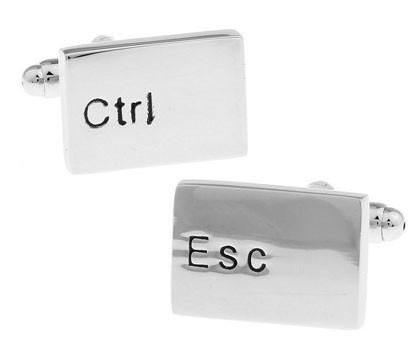 Ctrl Esc Cufflinks - Programming Tshirt, Hoodie, Longsleeve, Caps, Case - Tee++