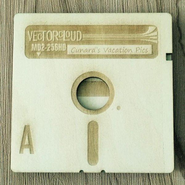 Wooden Floppy Disk Coasters (with box) - Programming Tshirt, Hoodie, Longsleeve, Caps, Case - Tee++